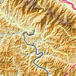 Airport Ankang Wulipu Airport - Ankang map