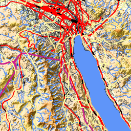 Maps Weather and Airports for Horgen Switzerland