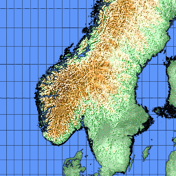 Directory Of Cities And Towns In Norway - Norway map towns