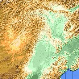 luzhou china map