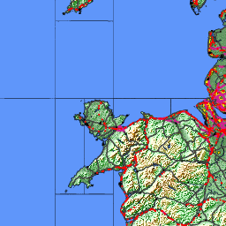 Map Of Ireland With Towns And Villages.Directory Of Cities And Towns In Ireland